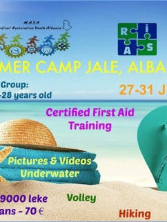 SUMMER CAMP JALE , ALBANIA